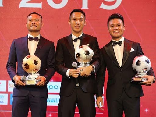 Quả bóng vàng Việt Nam: Gọi tên 3 cầu thủ xuất sắc nhất
