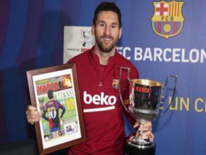 Bóng đá quốc tế chiều 22/12: Messi viết nên lịch sử tại La Liga