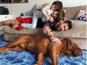 Chó của Messi thuộc giống chó hiếm có mức giá khá đắt đỏ
