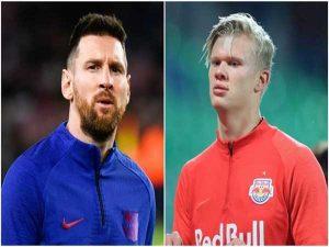 Tin Bóng đá quốc tế sáng 20/4 : Haaland theo dõi Messi