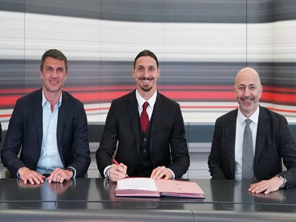 Bóng đá Quốc Tế 23/4: Zlatan Ibrahimovic tiếp tục ở lại Milan
