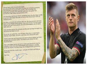 Bóng đá Quốc Tế ngày 3/7: Toni Kroos giã từ tuyển Đức