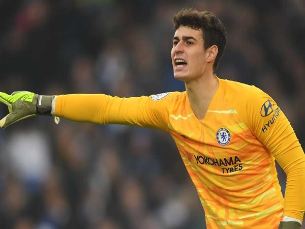 Thủ môn Chelsea xuất sắc nhất điểm tên ai?